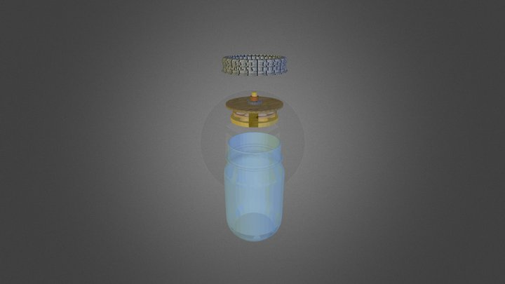 Bottle Assembly 3D Model