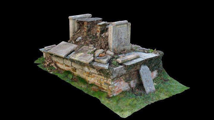 Constantine Church - Chest Tomb 3D Model