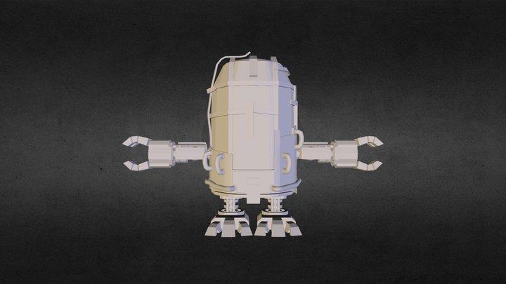 ti-robot_WIP 3D Model