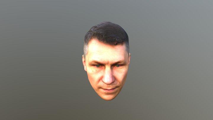 Mark HeadScan 20000poly 3D Model