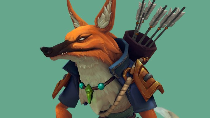 Red Hunter  ( Dan Pilla ) 3D Model