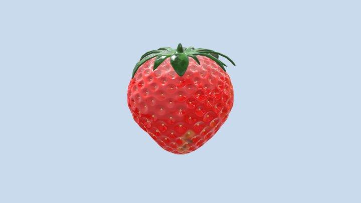 Assessment 2-Intro Organic Modelling-Strawberry 3D Model