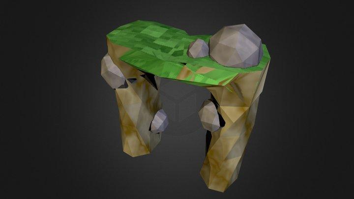 Monument Assets 3D Model