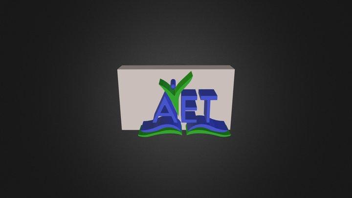 AET Conference Logo 3D Model