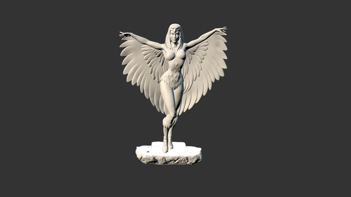 Scorseress 3D Model