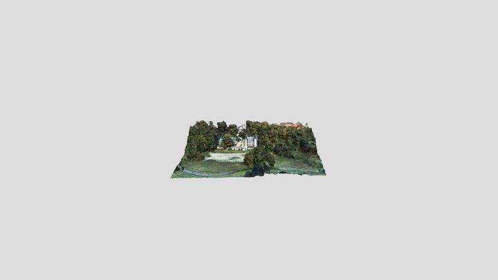 247 - ULM Autogire MTO - Château de Mt l'Evêque 3D Model