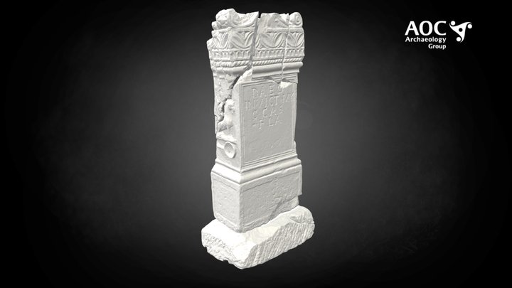 Mithras Altar, Inveresk 3D Model