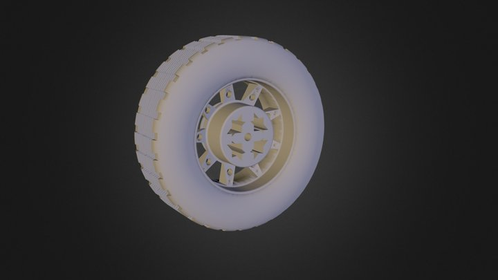 גלגל 03 משלי נופר סופי  3D Model