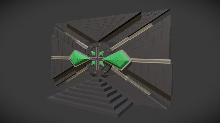 Passage Secret 3D Model