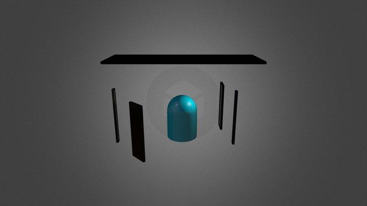 Glass Bell Jar 3D Model