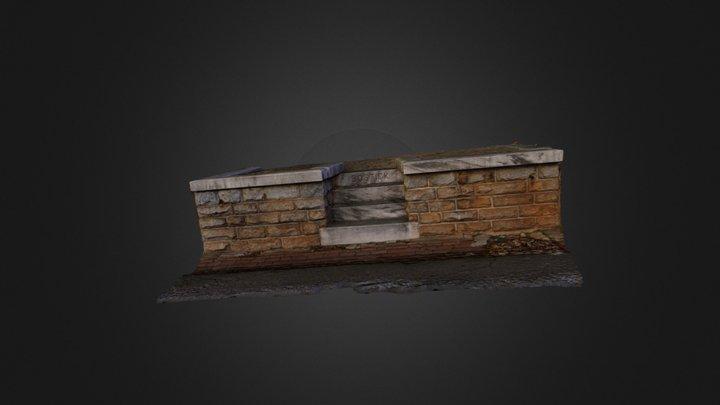 Bostick Steps at Oakland Cemetery 3D Model