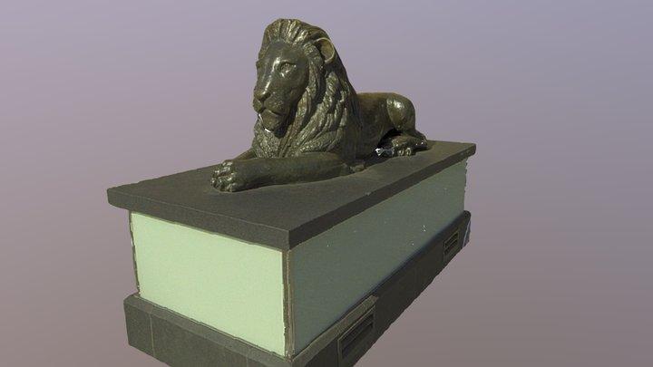 Brisbane Lion 3D Model