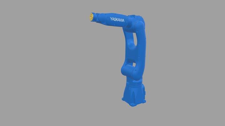 YASKAWA Robot No. GP8 3D Model