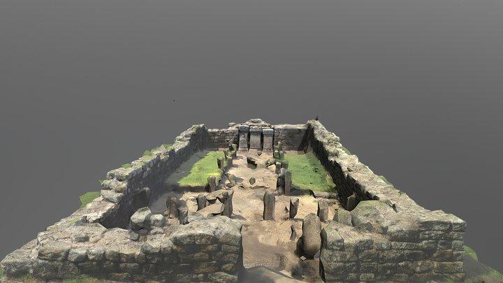 Temple to Mithras Carrawburgh 3D Model
