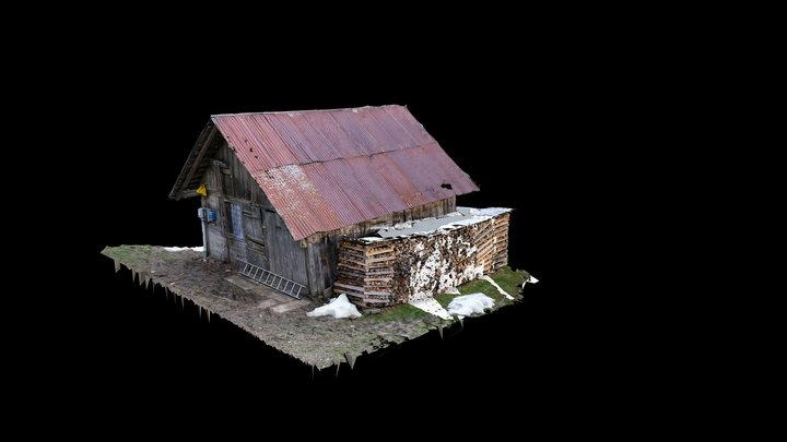 Mountain House 3D Model
