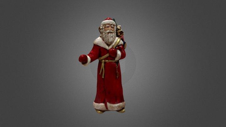 Santa figurine 3D Model