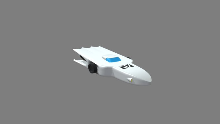 Getter machine Jaguar 3D Model
