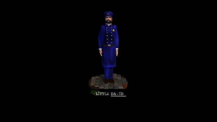 Little David - The Bramson Case 3D Model