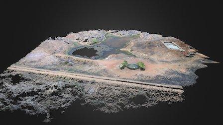 Laguna Filtered Point Cloud 3D Model