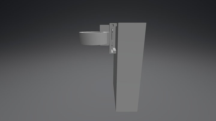 Camera Mount 2 3D Model