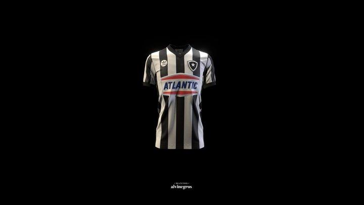 Camisa Botafogo - Titular - 1985-86 3D Model