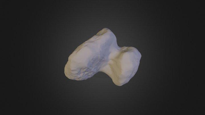 ESA Rosetta test 3D Model