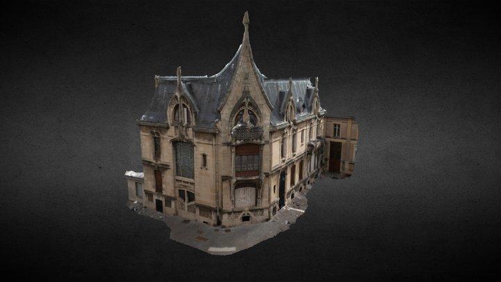 Villa Bergeret, Nancy, France 3D Model