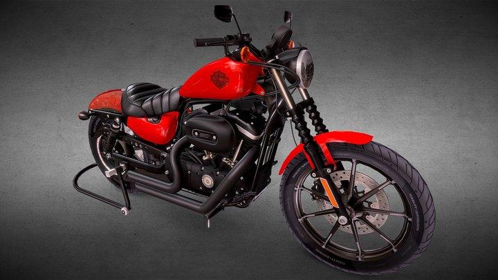 Harley Davidson Iron 883 (2013) 3D Model