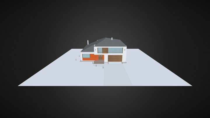 Dom Eksport1 3D Model