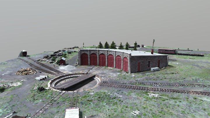 Round House Como, Colorado 3D Model