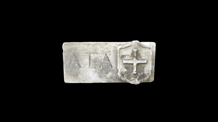 Frammento di iscrizione  Fragment of inscription 3D Model