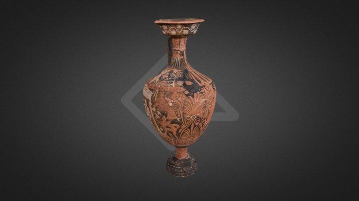 Hydria Museo Campano Capua IV sec. a.C. 3D Model