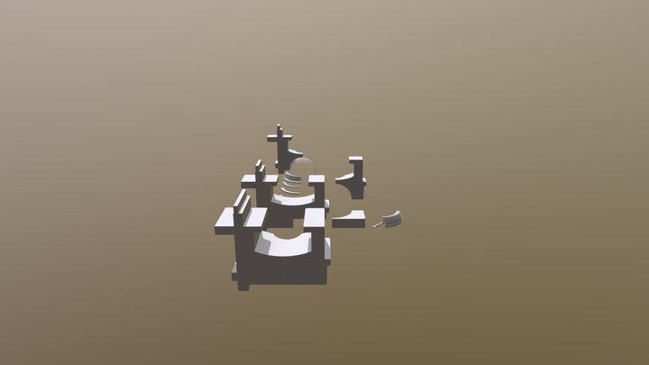 Project Axonometrie AR 3D Model