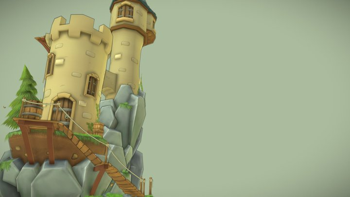 The Guard Tower 3D Model