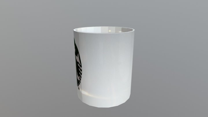 Starbucks Mug 3D Model