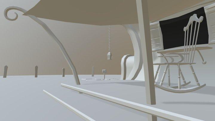 Casa cartoon 3D Model