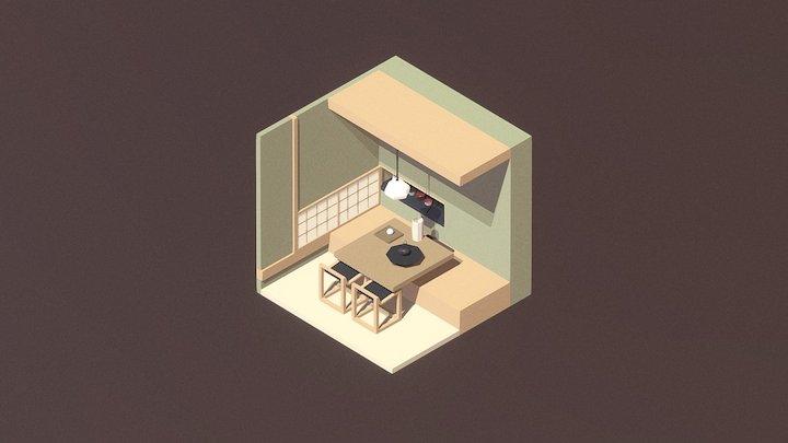 Room 12 / Blender 3D Model