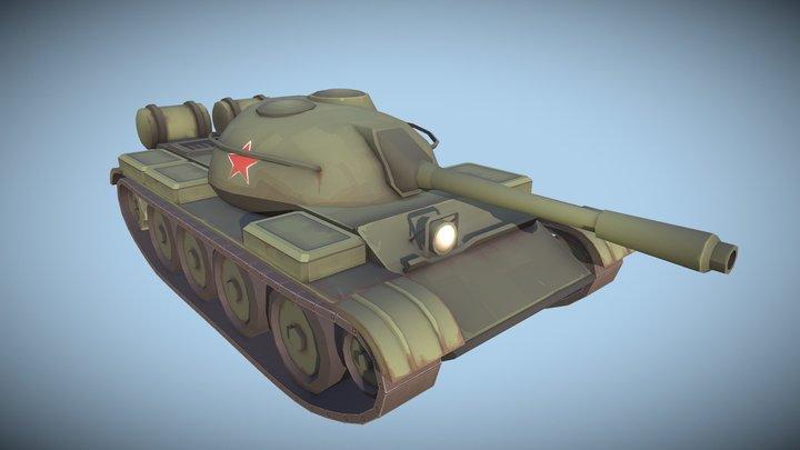 TF2 Soviet Tank 3D Model