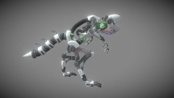 Roboraptor 3D Model