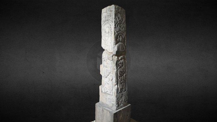 Nunburnholme Cross 3D Model