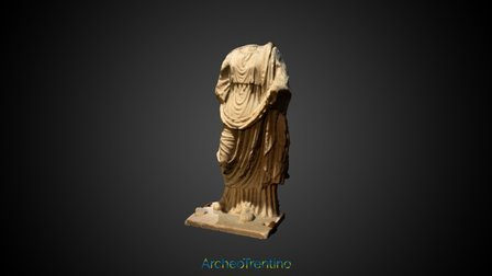 Museo Retico, Matrona 3D Model