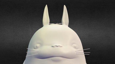 龍貓 3D Model