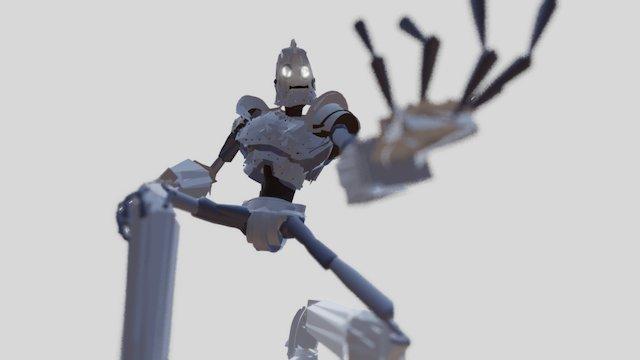 The IRON GIANT! - Tilt Brush + HTC Vive 3D Model