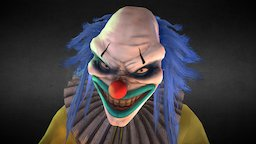 Kevin the Clown 3D Model