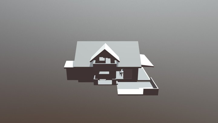 A slightly different house 3D Model