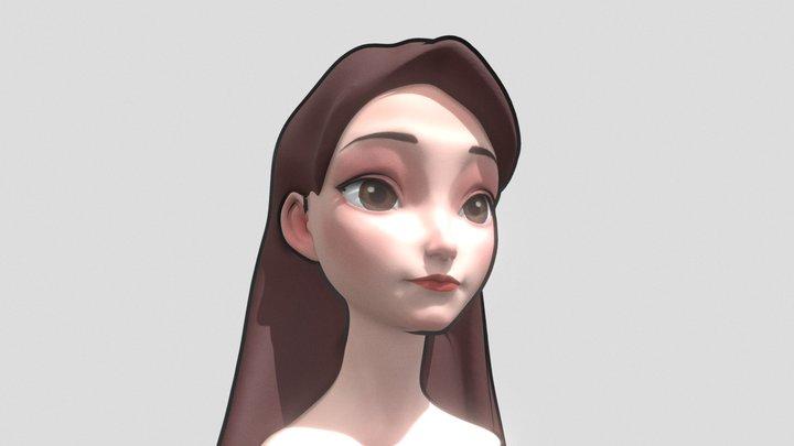 Cinderella 3D Model