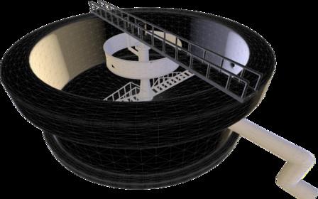 Clarifier 3D Model