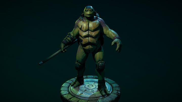 TMNT Donatello 3D Model