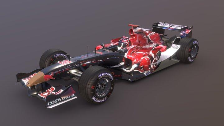 Toro Rosso STR-01 (Canada 2006 Edition) 3D Model
