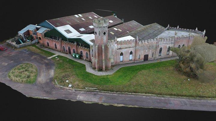 Building test Phantom 4 Pro - 20mp cam 3D Model